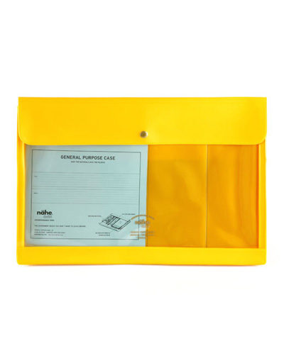 General Purpose Case – A4/Yellow