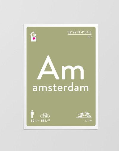 Postcard Amsterdam