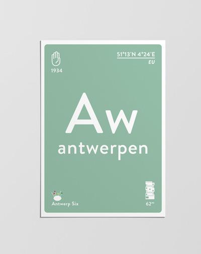 Postcard Antwerpen