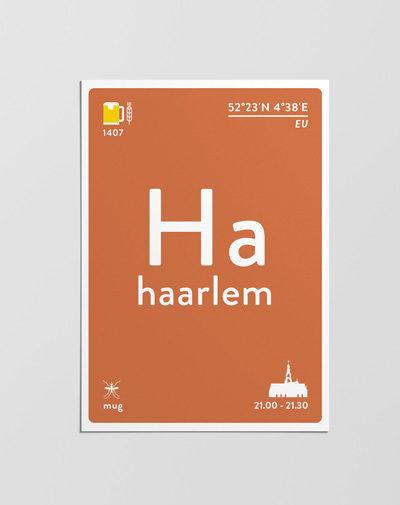 Postcard Haarlem