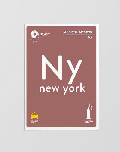 Postcard New York