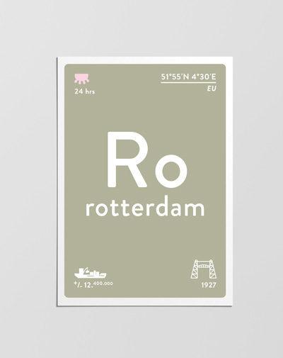 Postcard Rotterdam