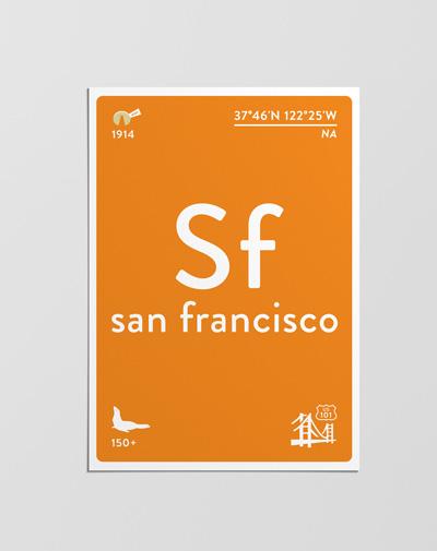 Postcard San Francisco