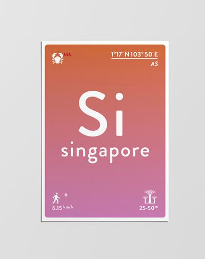 Postcard Singapore