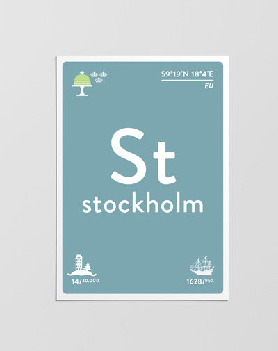 Postcard Stockholm