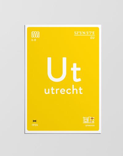 Postcard Utrecht