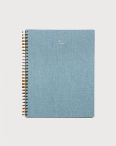 Notebook Chambray Blue