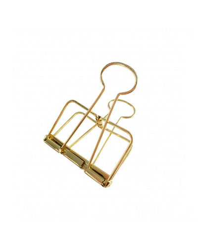 Binder Clips Gold XL