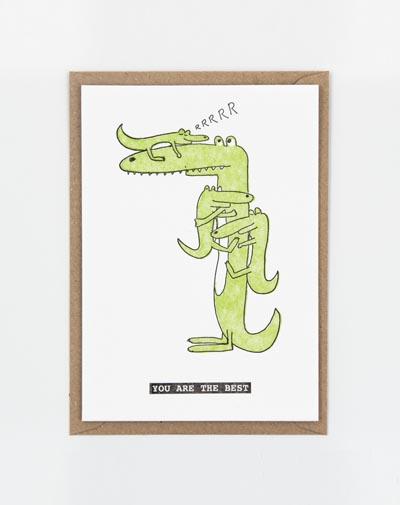 Kaart Crocodile Kids