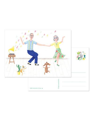 Kaart Dansje Doen