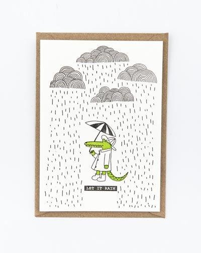 Kaart Let It Rain