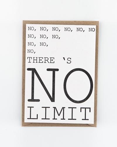 Kaart No Limit