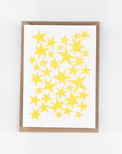 Kaart Stars Yellow