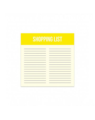 Mini Noteblock Shopping List