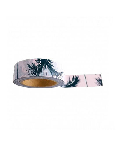 Washi tape Pink Palm