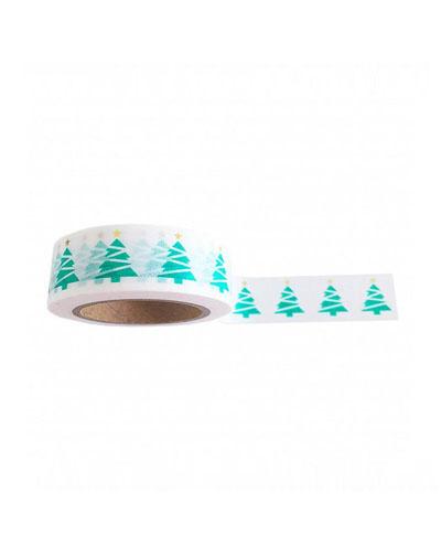 Washi tape Xmas tree