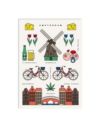 Kaart Amsterdam Experience