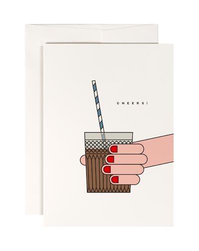 Wenskaart Cheers