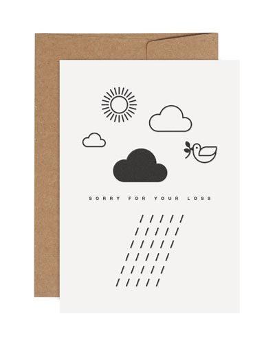 Wenskaart Rainy Days