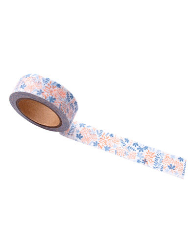 Washi tape Blooming Garden Blue