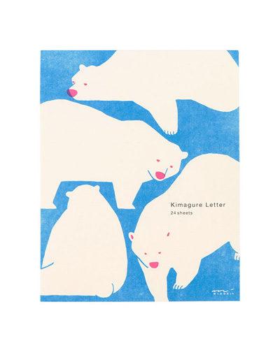 Briefpapier IJsbeer