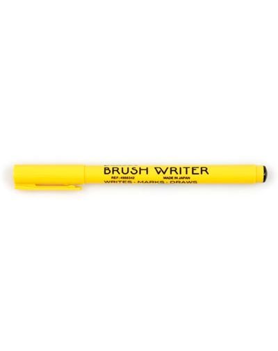 Brush Writer Zwart