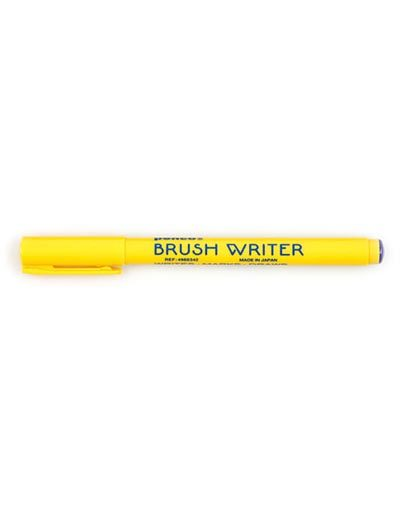 Brush Writer Blauw