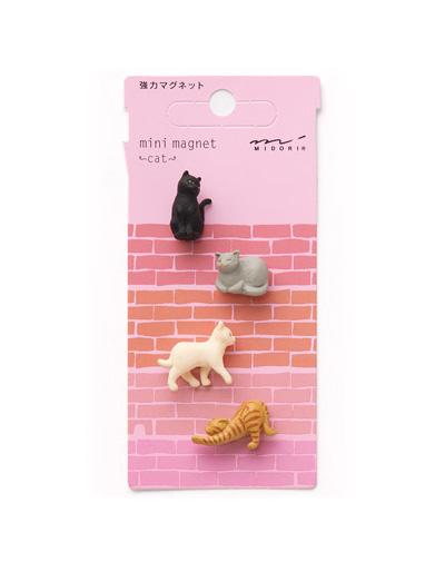 Mini magnets Cat