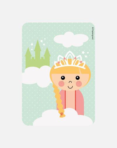Party Invite Prinses (set van 6)