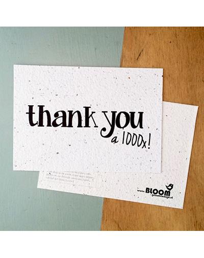 Kaart Thank You 1000x