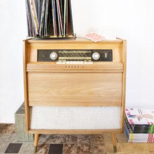 The Stationery Store photoshoot januari 2018 vintage radio