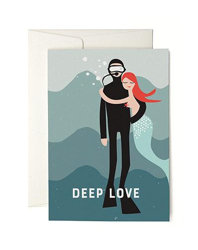 Wenskaart Deep Love
