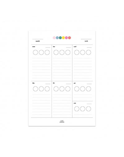 Stick it Weekplanner