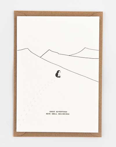 Kaart Pinguin Adventure