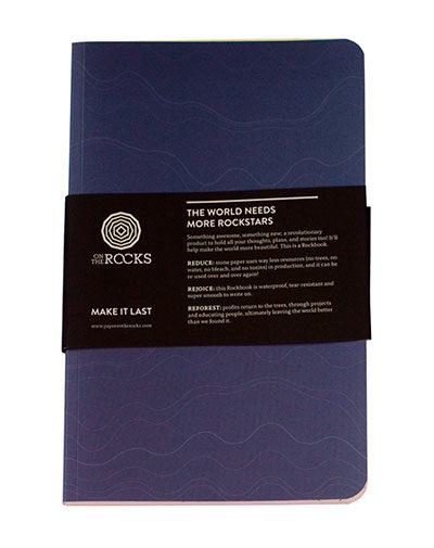 Blank Rockbook Softcover mauve