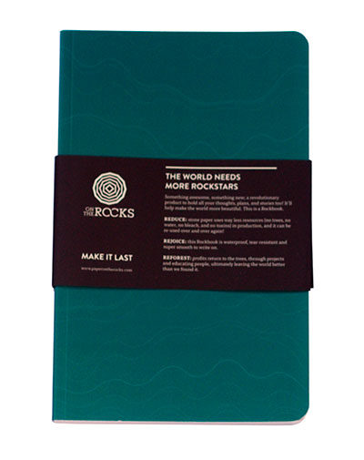 Rockbook Softcover turquoise