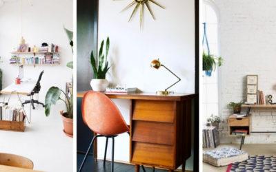 Een inspirerende thuiswerkplek creëer je zo