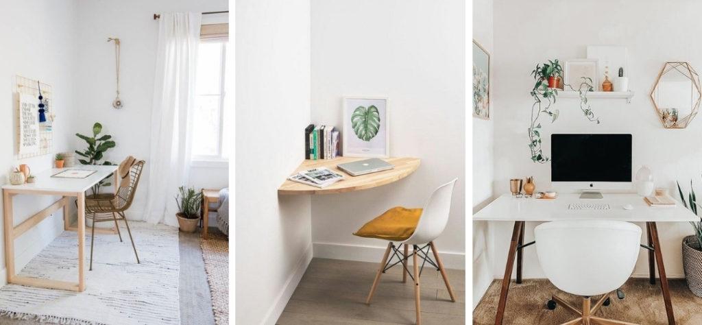 inspirerende thuiswerkplek minimalistisch